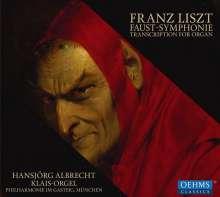 Franz Liszt (1811-1886): Faustsymphonie für Orgel, CD