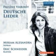 Pauline Viardot-Garcia (1821-1910): Deutsche Lieder, CD