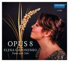 Elena Gaponenko - Opus 8, 2 CDs