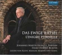 Johannes Martin Kränzle - Das Ewige Rätsel, CD