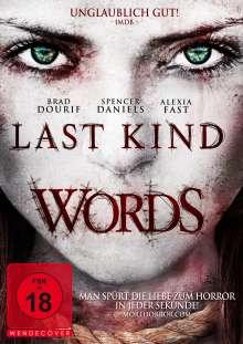 Last Kind Words, DVD