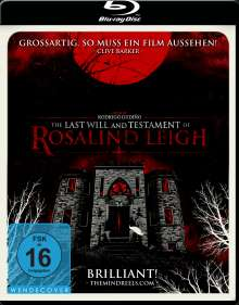 The Last Will and Testament of Rosalind Leigh (Blu-ray), Blu-ray Disc