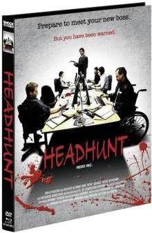Headhunt (Blu-ray & DVD im Mediabook), 1 Blu-ray Disc und 1 DVD
