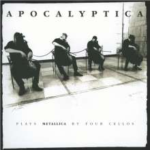 Apocalyptica: Plays Metallica By Four Cellos (20th Anniversary Edition) (remastered) (180g), 2 LPs und 1 CD