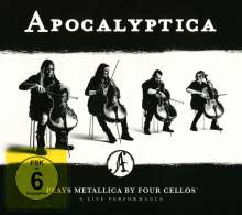 Apocalyptica: Plays Metallica: A Live Performance, 2 CDs
