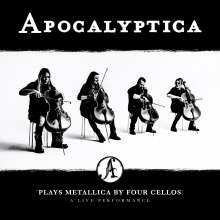 Apocalyptica: Plays Metallica By Four Cellos: A Live Performance (180g), 3 LPs