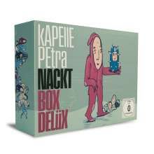 Kapelle Petra: Nackt (Limited-Deluxe-Box), 1 CD, 1 DVD und 1 Merchandise