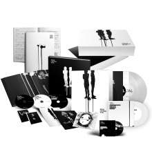 "Deine Lakaien: Dual (Deluxe Fanbox-Set), 2 LPs, 3 CDs, 1 DVD und 1 Single 7"""