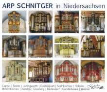 Arp Schnitger in Niedersachsen, 2 CDs