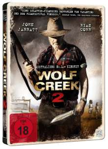Wolf Creek 2 (Blu-ray im Steelbook), Blu-ray Disc