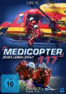 Medicopter 117 Staffel 7 (finale Staffel), 4 DVDs