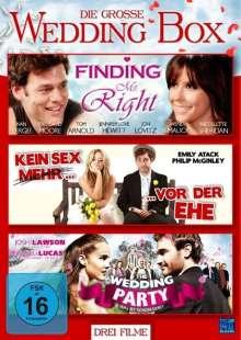Die große Wedding Box (3 Filme), 3 DVDs
