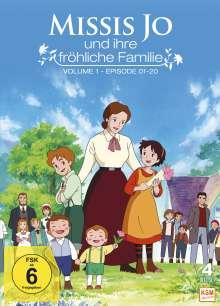 Missis Jo und ihre fröhliche Familie Vol. 1, 4 DVDs