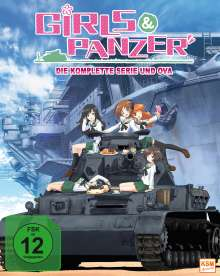 Girls & Panzer Vol. 1 (mit Sammelschuber) (Blu-ray), Blu-ray Disc