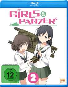 Girls & Panzer Vol. 2 (Blu-ray), Blu-ray Disc