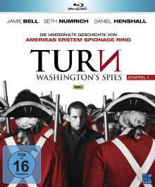Turn - Washington's Spies Staffel 1 (Blu-ray), 4 Blu-ray Discs