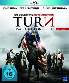 Turn - Washington's Spies Staffel 2 (Blu-ray), 4 Blu-ray Discs