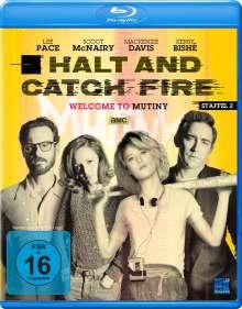 Halt and Catch Fire Staffel 2 (Blu-ray), 4 Blu-ray Discs