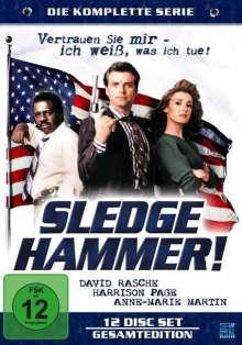 Sledge Hammer (Komplette Serie), 12 DVDs