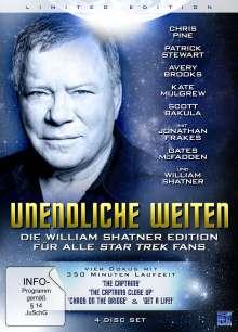 Unendliche Weiten - Die William Shatner Edition für alle Star Trek Fans, 4 DVDs