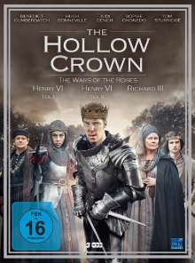 The Hollow Crown Season 2: The Wars of the Roses, 3 DVDs