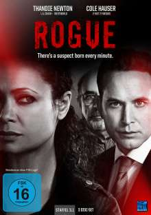 Rogue Season 3 Vol. 1, 3 DVDs