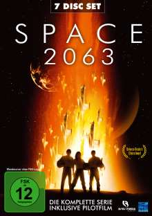 Space 2063 (Komplette Serie & Pilotfilm), 7 DVDs