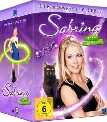 Sabrina - Total verhext (Komplette Serie), 31 DVDs