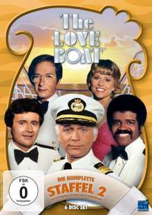 The Love Boat Staffel 2, 6 DVDs