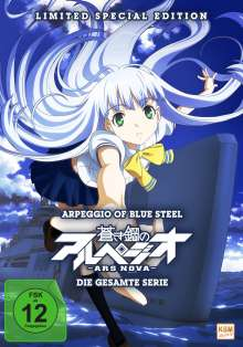 Arpeggio of Blue Steel - Ars Nova (Komplette Serie) (Limited Special Edition), 3 DVDs