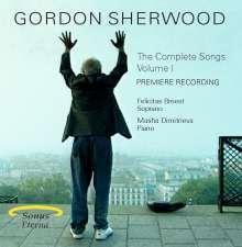 Gordon Sherwood (1929-2013): Sämtliche Lieder Vol.1, CD