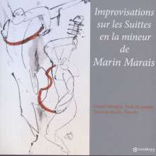Gerald Stempfel - Improvisations sur Les Suittes en la mineur de Marin Marais, CD