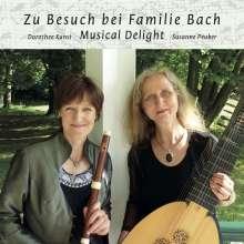 Zu Besucht bei Familie Bach, CD