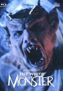 The White Monster (Blu-ray & DVD im Mediabook), 2 Blu-ray Discs