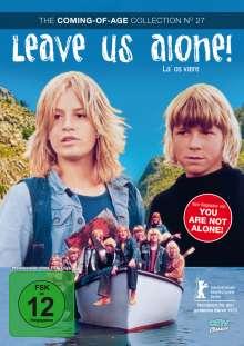 Leave us Alone (OmU), DVD