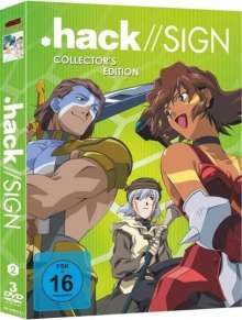 .hack//sign Vol. 2, 3 DVDs