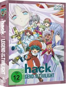 .hack//Legend of the Twilight, 3 DVDs