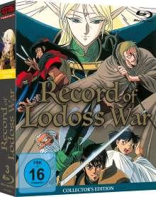 Record of Lodoss War (Gesamtausgabe) (Blu-ray), 3 Blu-ray Discs