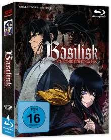 Basilisk (Gesamtausgabe) (Blu-ray), 4 Blu-ray Discs
