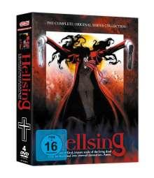 Hellsing (Gesamtausgabe), 4 DVDs