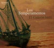 Los Temperamentos - El Galeon 1600, CD