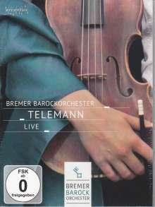 Georg Philipp Telemann (1681-1767): Concerti & Ouvertüre, DVD
