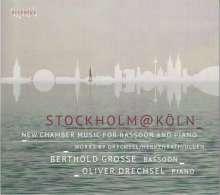 """Musik für Fagott & Klavier """"Stockholm@Köln"""", CD"""