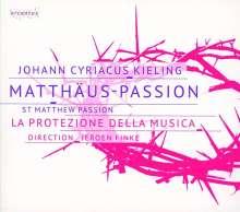 Johann Cyriacus Kieling (1670-1727): Matthäus-Passion, 2 CDs