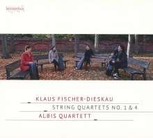 Klaus Fischer-Dieskau (1921-1994): Streichquartette Nr.1 & 4, CD