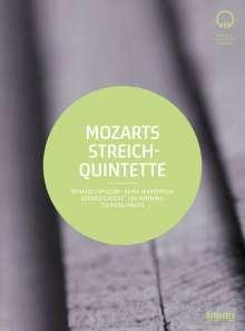 Wolfgang Amadeus Mozart (1756-1791): Streichquintette Nr.1-6, 2 DVDs