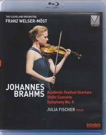 Johannes Brahms (1833-1897): Violinkonzert op.77, Blu-ray Disc