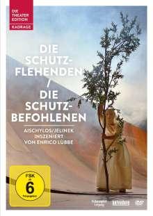 Die Schutzflehenden / Die Schutzbefohlenen, DVD