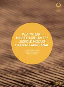 "Wolfgang Amadeus Mozart (1756-1791): Messe KV 427 c-moll ""Große Messe"", Blu-ray Disc"