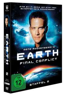 Earth: Final Conflict Season 2 (Limited Edition), 6 DVDs